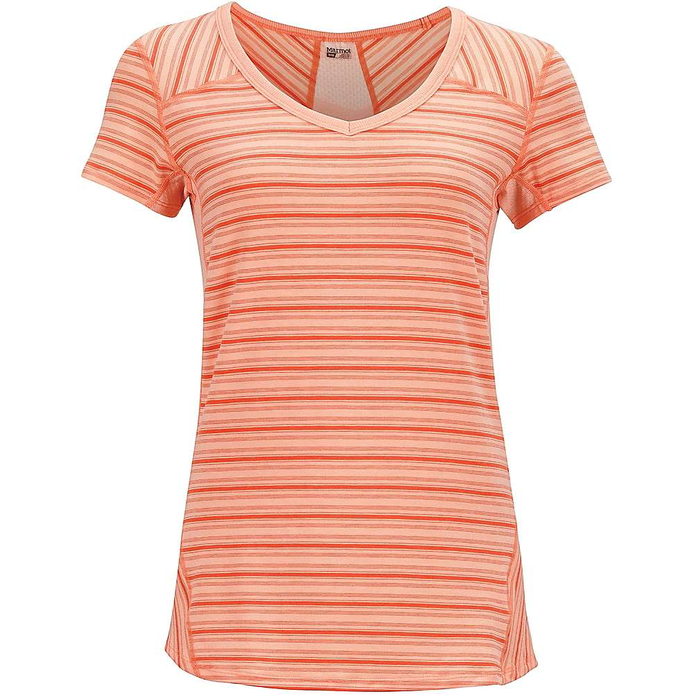 Marmot Women's Julia SS Top - Medium - Pink Lemonade