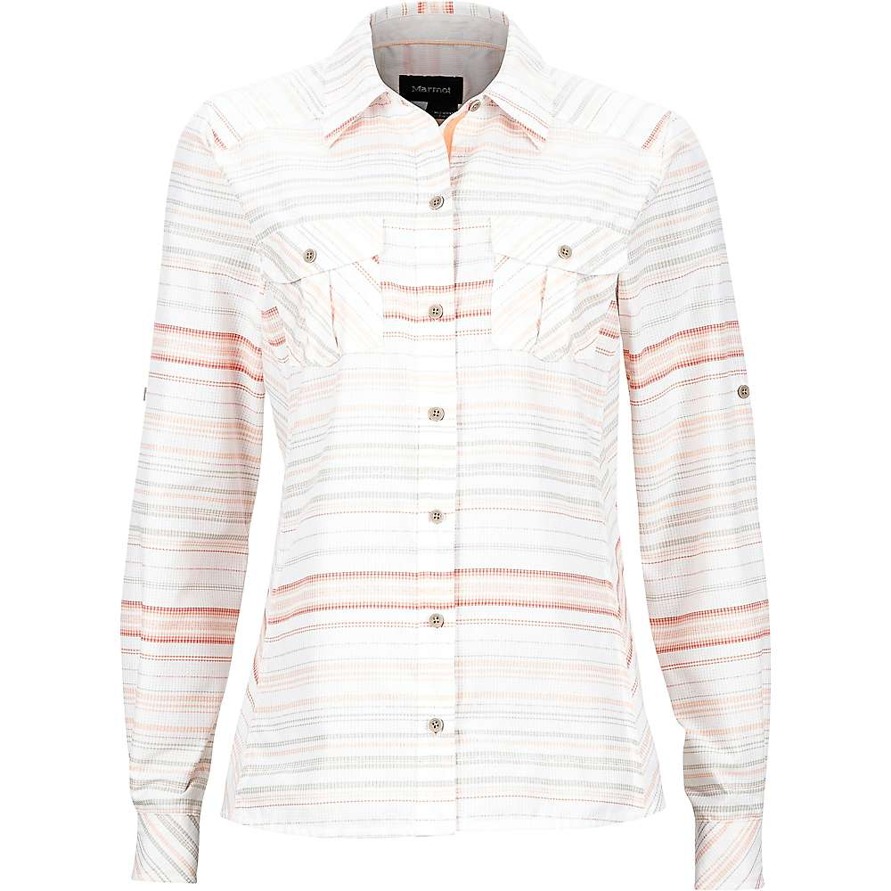 Marmot Women's Lillian LS Shirt - Large - Pink Lemonade
