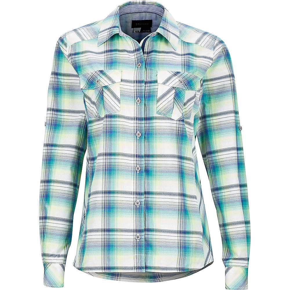 Marmot Women's Lillian LS Shirt - Medium - Spectrum Blue