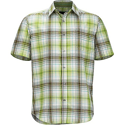 Click here for Marmot Mens Notus Short Sleeve Shirt Green prices