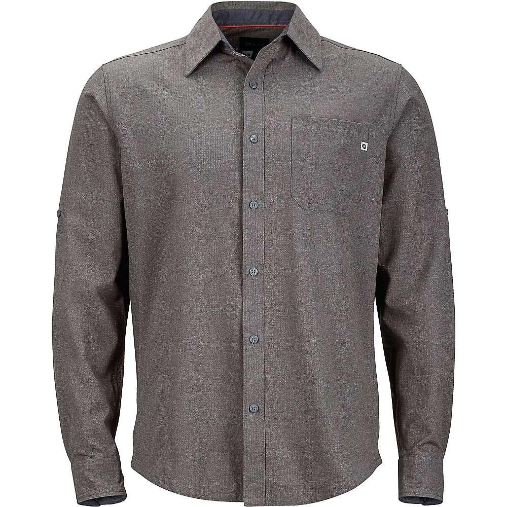 Marmot Men's Windshear LS Shirt - Small - Cinder