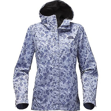 The North Face Women's Berrien Jacket Coastal Fjord Blue Duck Camo