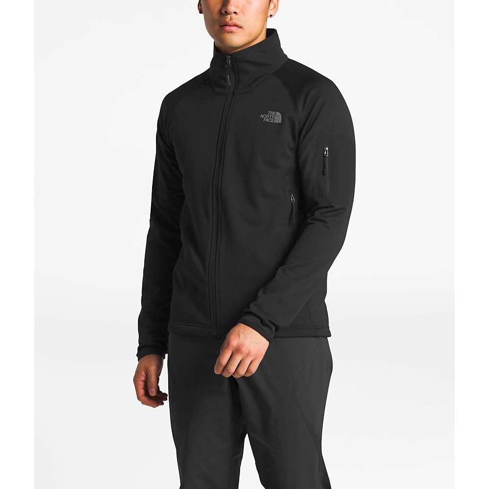 The North Face Men's Borod Full Zip Top - XXL - TNF Black / TNF Black