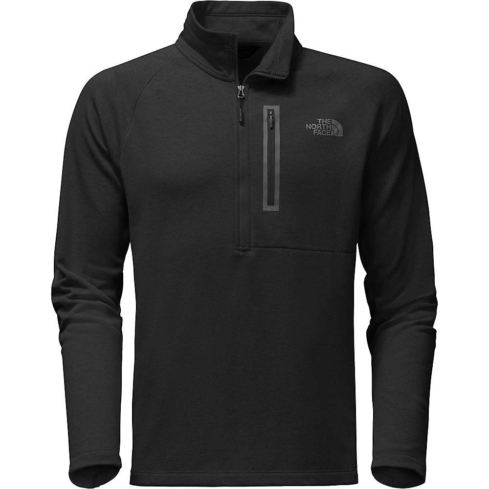 The North Face Men's Canyonlands 1/2 Zip Top - XL Tall - TNF Black