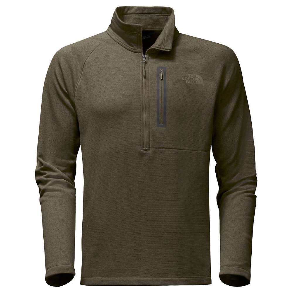 The North Face Men's Canyonlands 1/2 Zip Top - XXL - New Taupe Green Heather