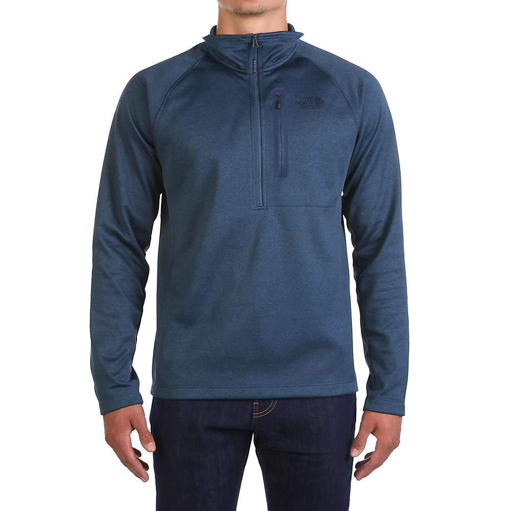 The North Face Men's Canyonlands 1/2 Zip Top - XL Tall - Shady Blue Heather