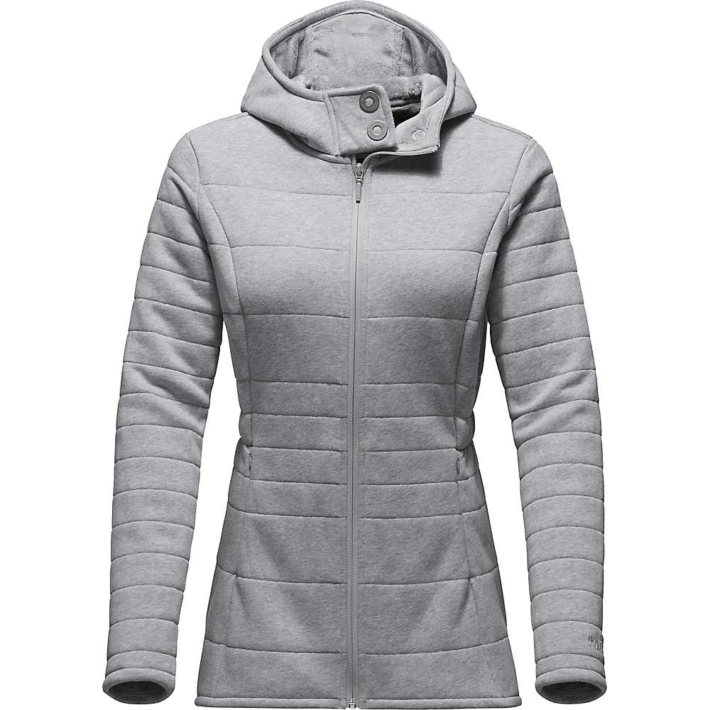 The North Face Women's Caroluna 2 Jacket - Large - TNF Light Grey Heather