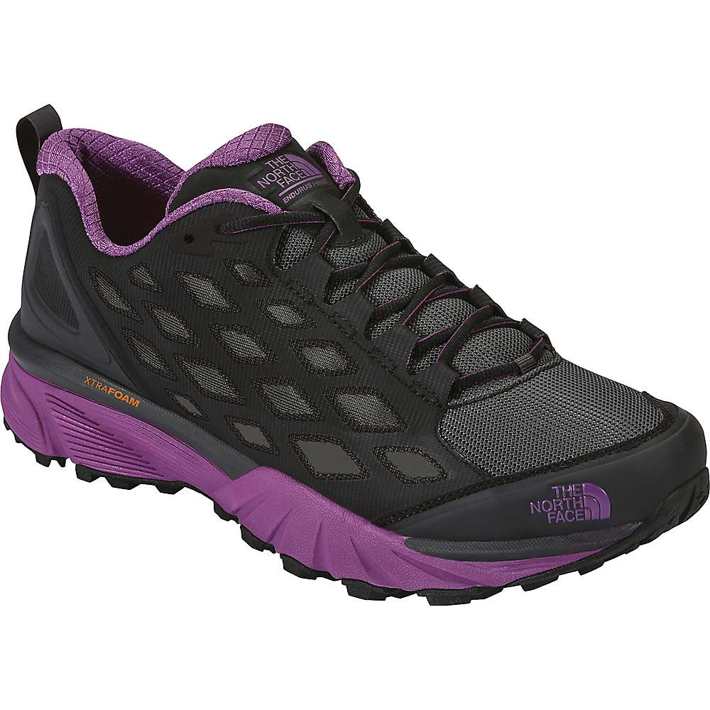 The North Face Women's Endurus Hike Shoe - 6 - Phantom Grey / Wood Violet