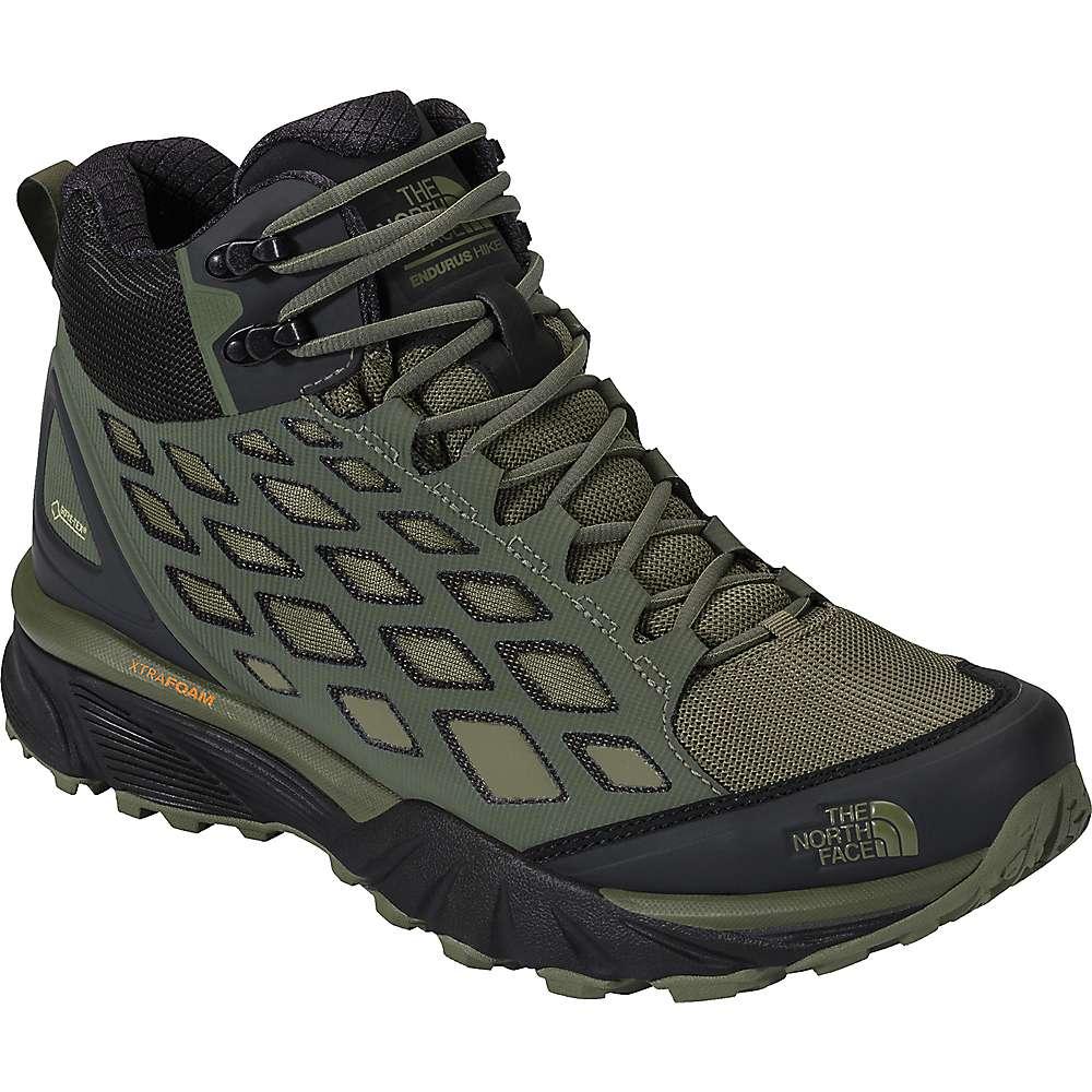 The North Face Men's Endurus Hike Mid GTX Shoe - 7.5 - Thyme / Deep Lichen Green