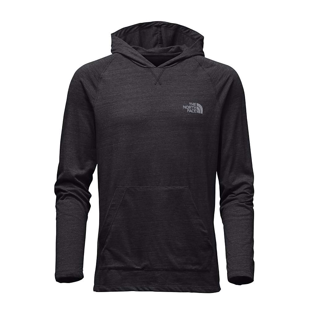 The North Face Men's LFC Tri-Blend Pullover Hoodie - XL - TNF Dark Grey Heather / Mid Grey