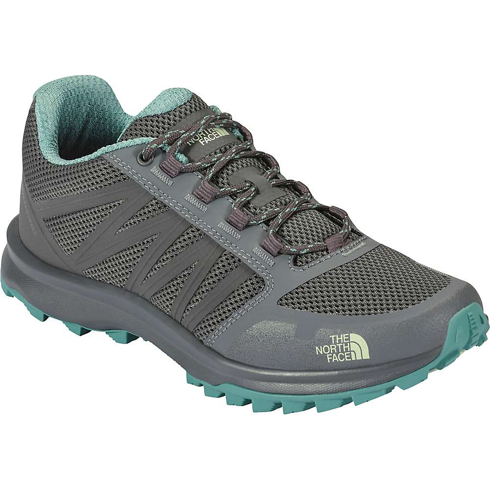 The North Face Women's Litewave Fastpack Shoe - 10 - Graphite Grey / Agate Green