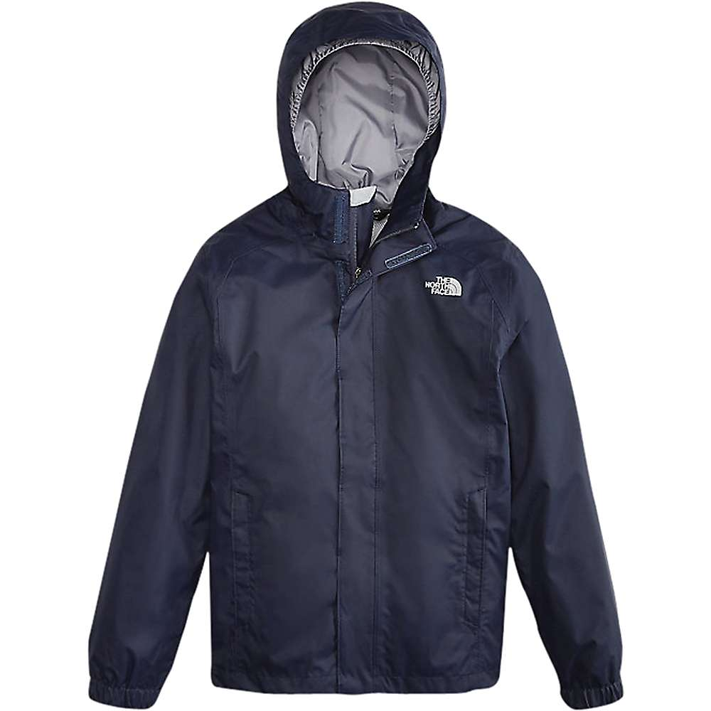 The North Face Boys' Resolve Reflective Jacket - Large - Cosmic Blue / Cosmic Blue