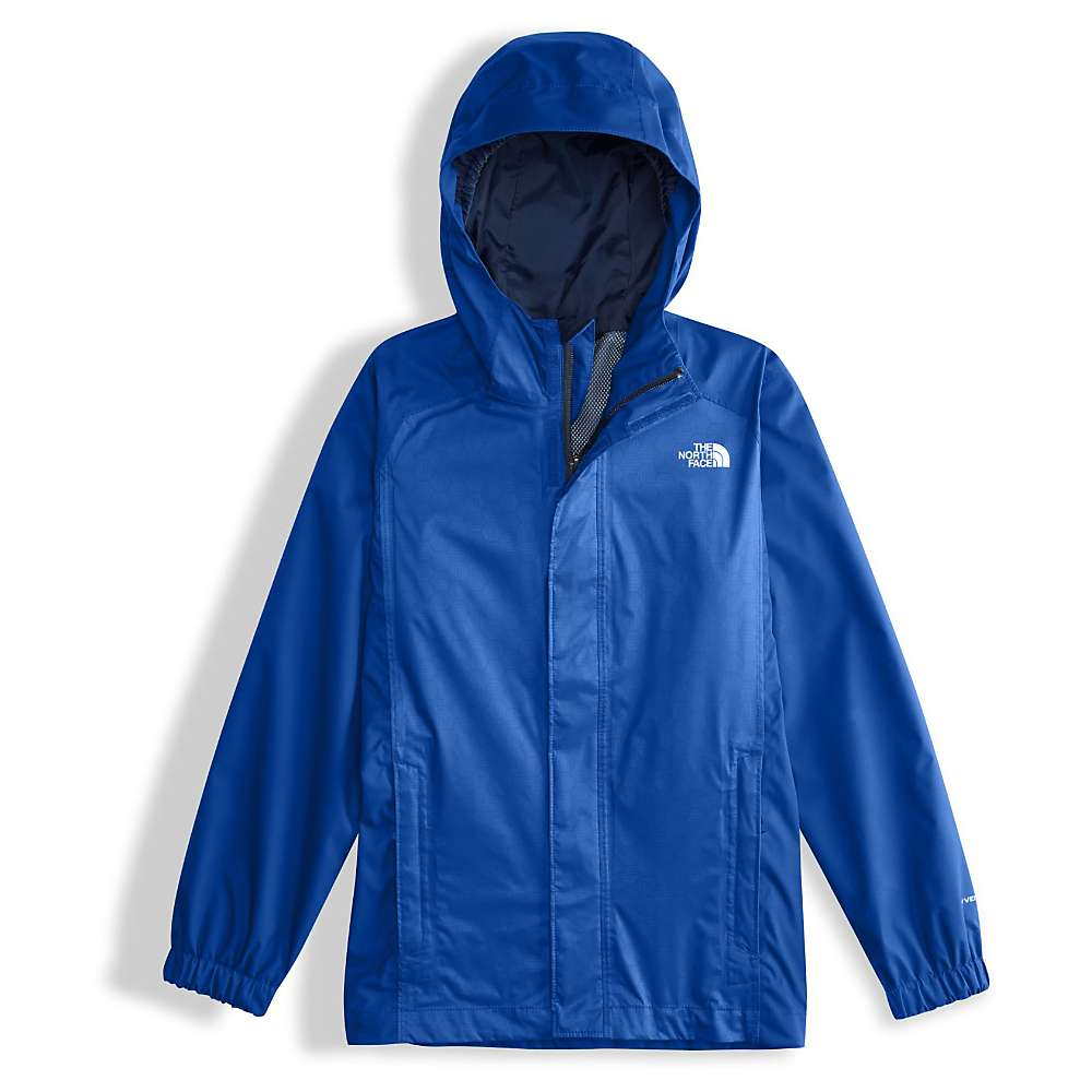 The North Face Boys' Resolve Reflective Jacket - Large - Bright Cobalt Blue Hex Emboss