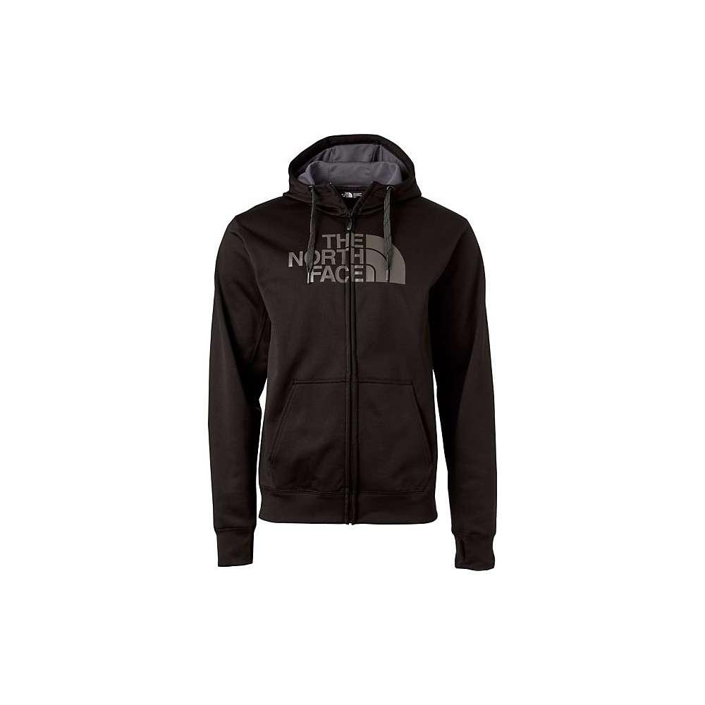 The North Face Men's Surgent Half Dome Full Zip Hoodie - Large - TNF Black / Asphalt Grey