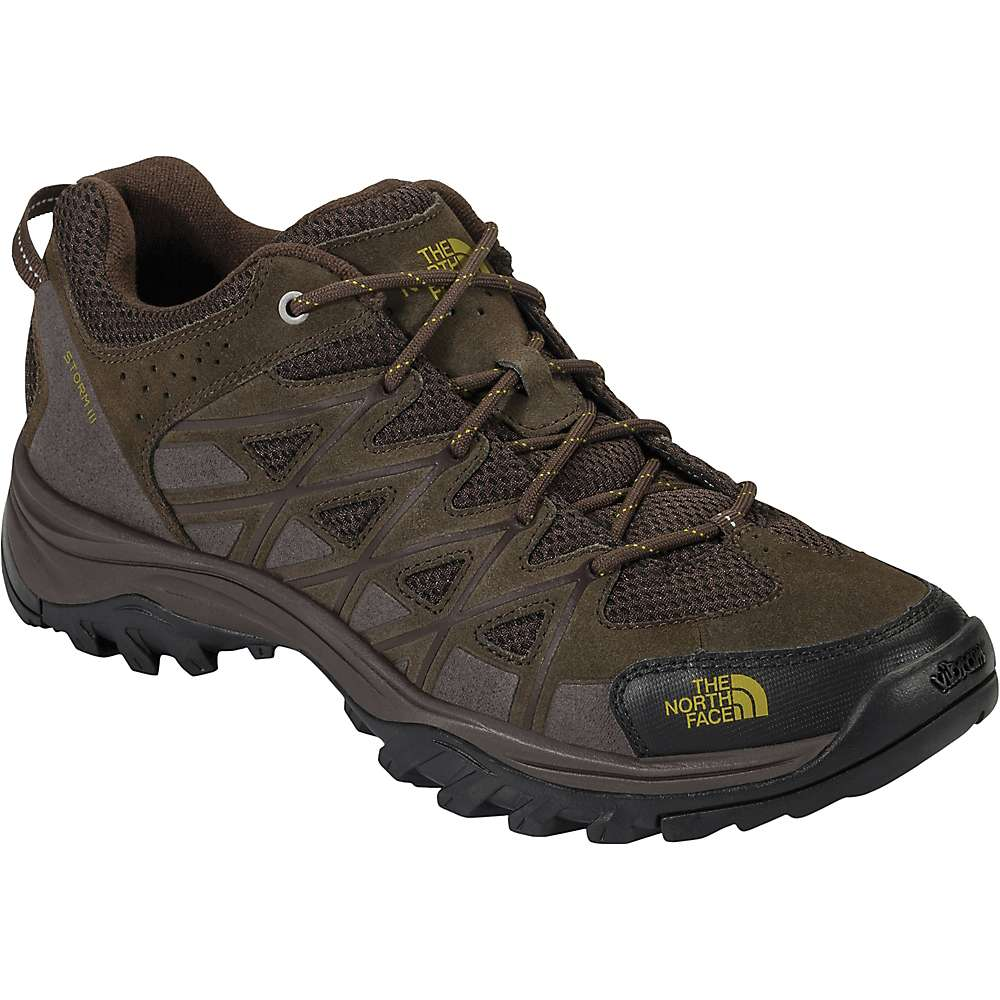 The North Face Men's Storm III Shoe - 8.5 - Coffee Brown / Antique Moss Green