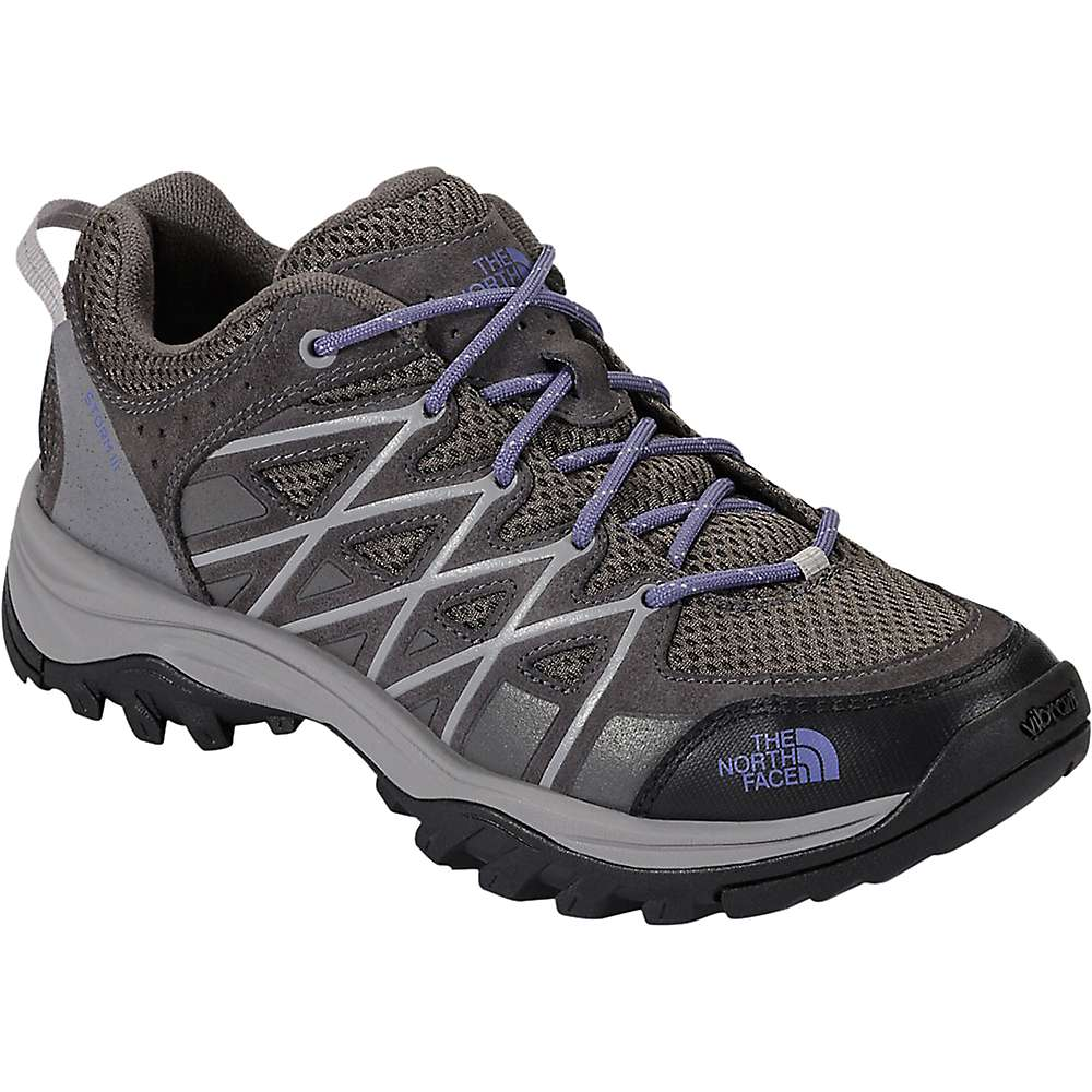 The North Face Women's Storm III Shoe - 7.5 - Dark Gull Grey / Marlin Blue