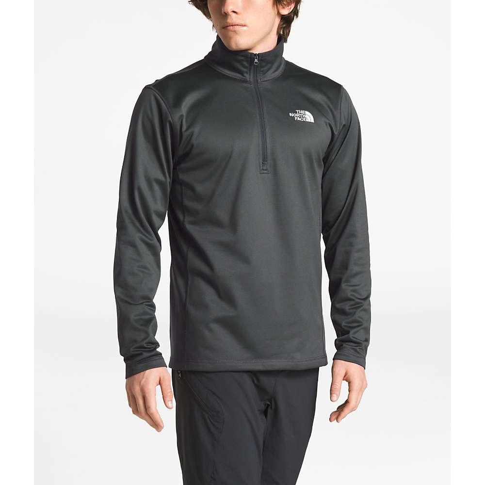 The North Face Men's Tech Glacier 1/4 Zip Top - XL - Asphalt Grey
