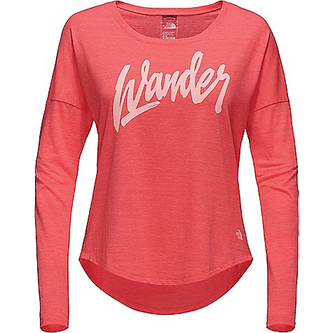 The North Face Wander Tri-Blend LS Tee