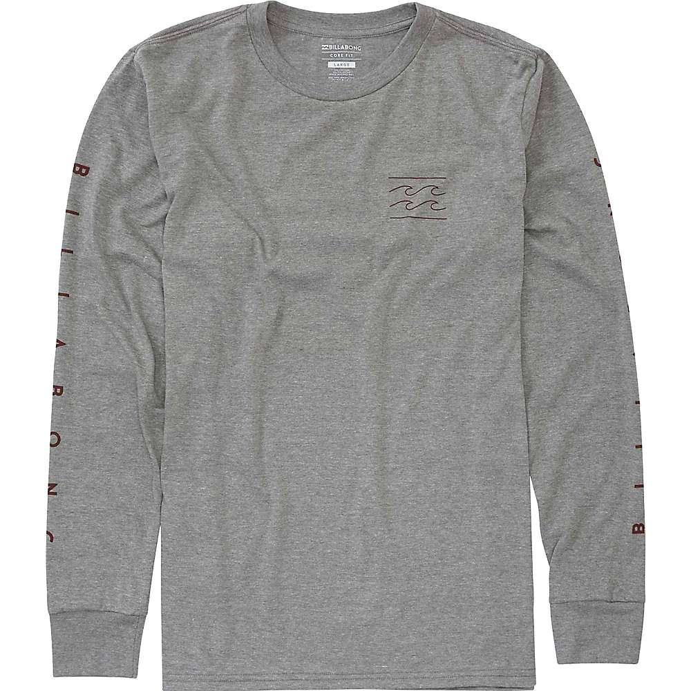 Billabong Men's Unity Sleeve T-Shirt - Large - Dark Grey Heather