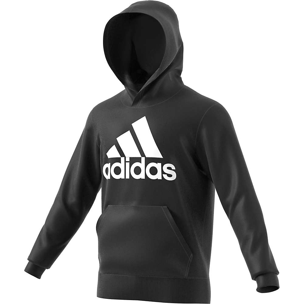 Adidas Men's Essentials Linear Pull-Over - Large - Black