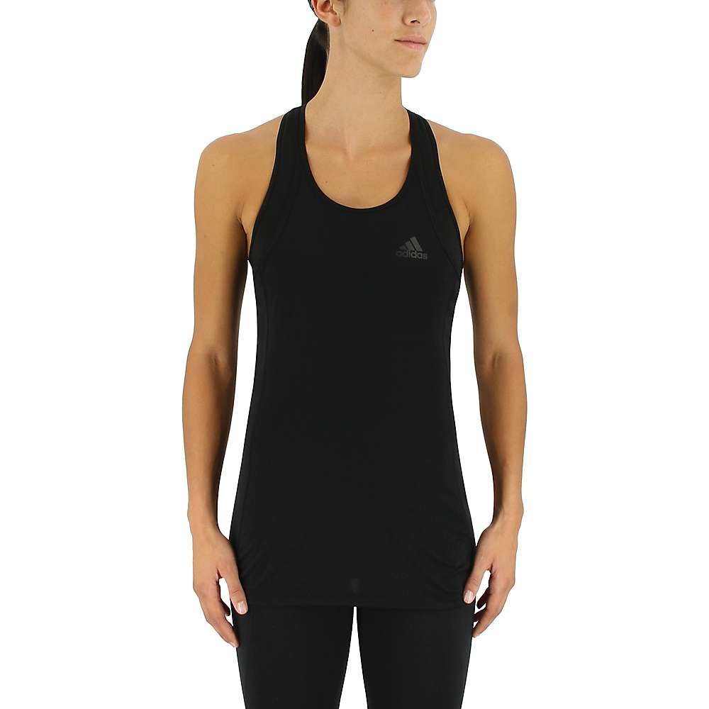 Adidas Women's Performance Step Up Tank - Large - Black / Black