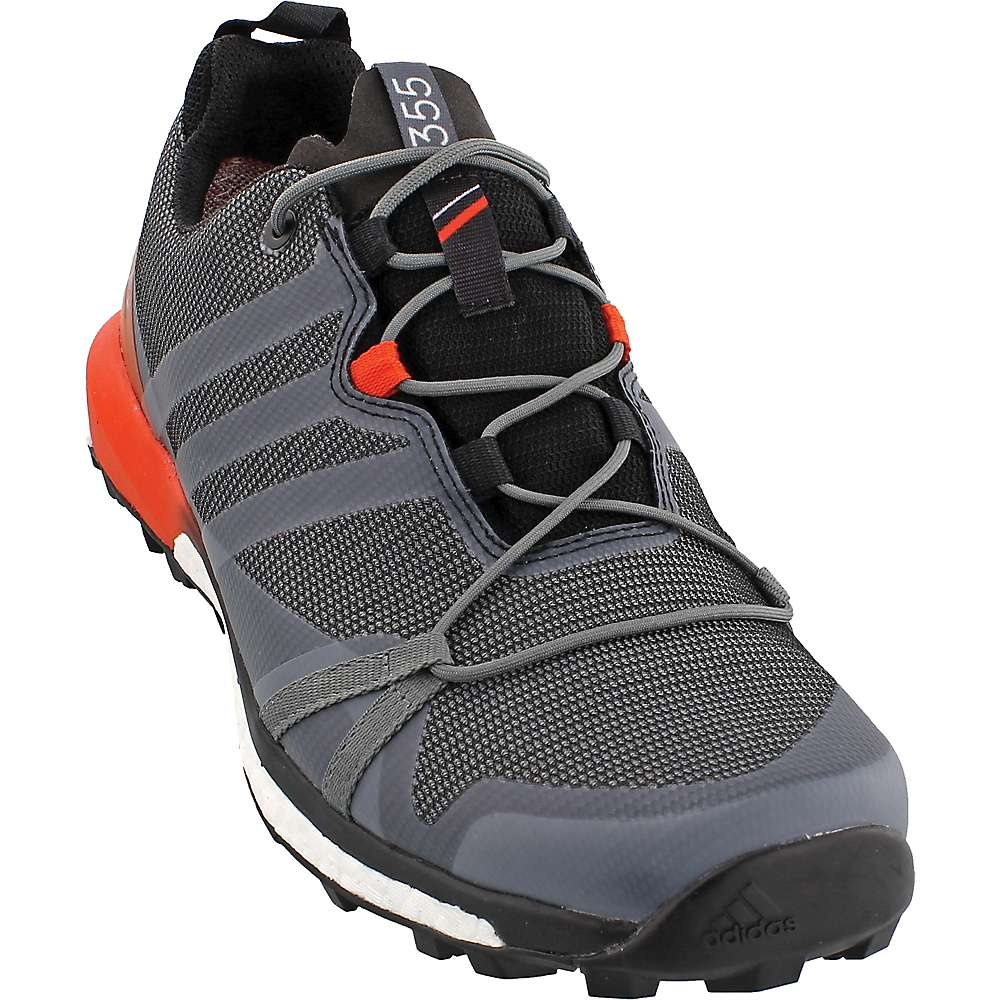 Adidas Men's Terrex Agravic GTX Shoe - 9 - Vista Grey / Black / Energy