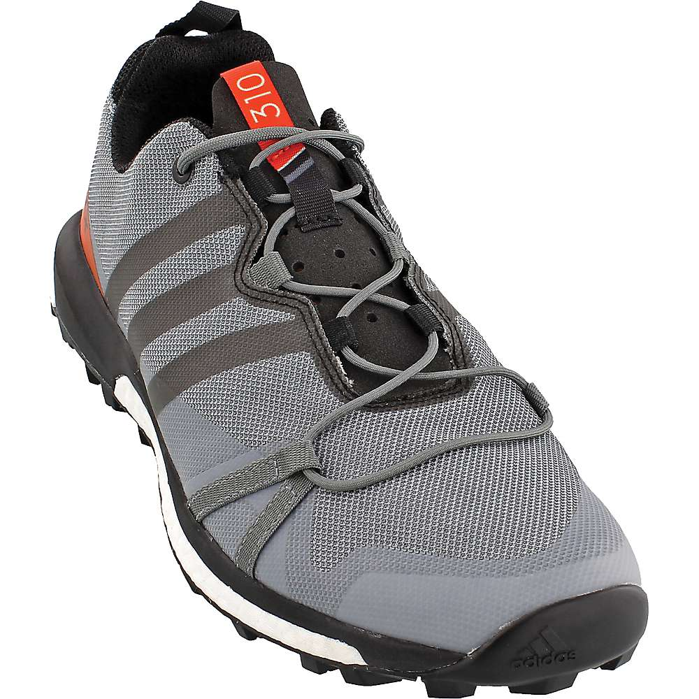 Adidas Men's Terrex Agravic Shoe - 9 - Vista Grey / Black / Energy