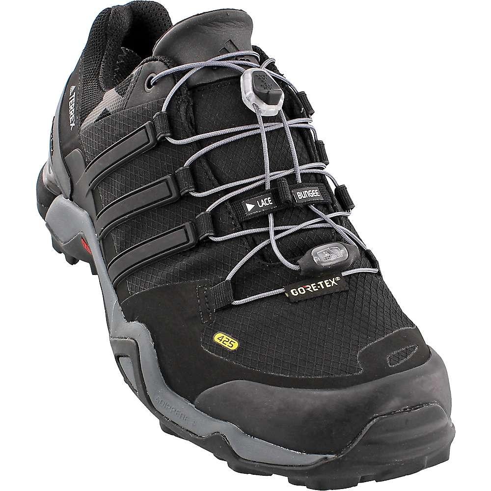 Adidas Men's Terrex Fast R GTX Shoe - 9.5 - Black / Black / White