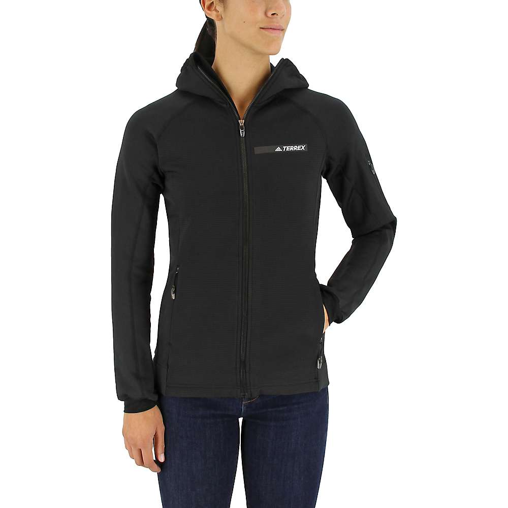 Adidas Women's Terrex Stockhorn Hoodie - Medium - Black