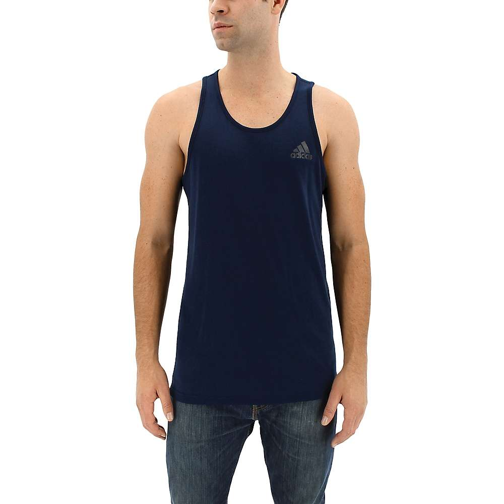 Adidas Men's Ultimate Tank - Small - Col. Navy