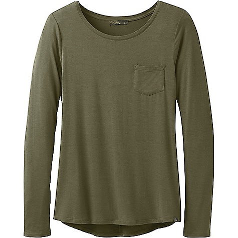 Prana Foundation LS Crew Neck Top