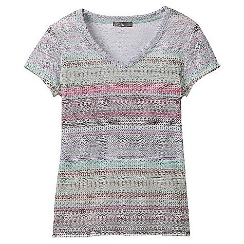 Prana Portfolio V Neck SS Top