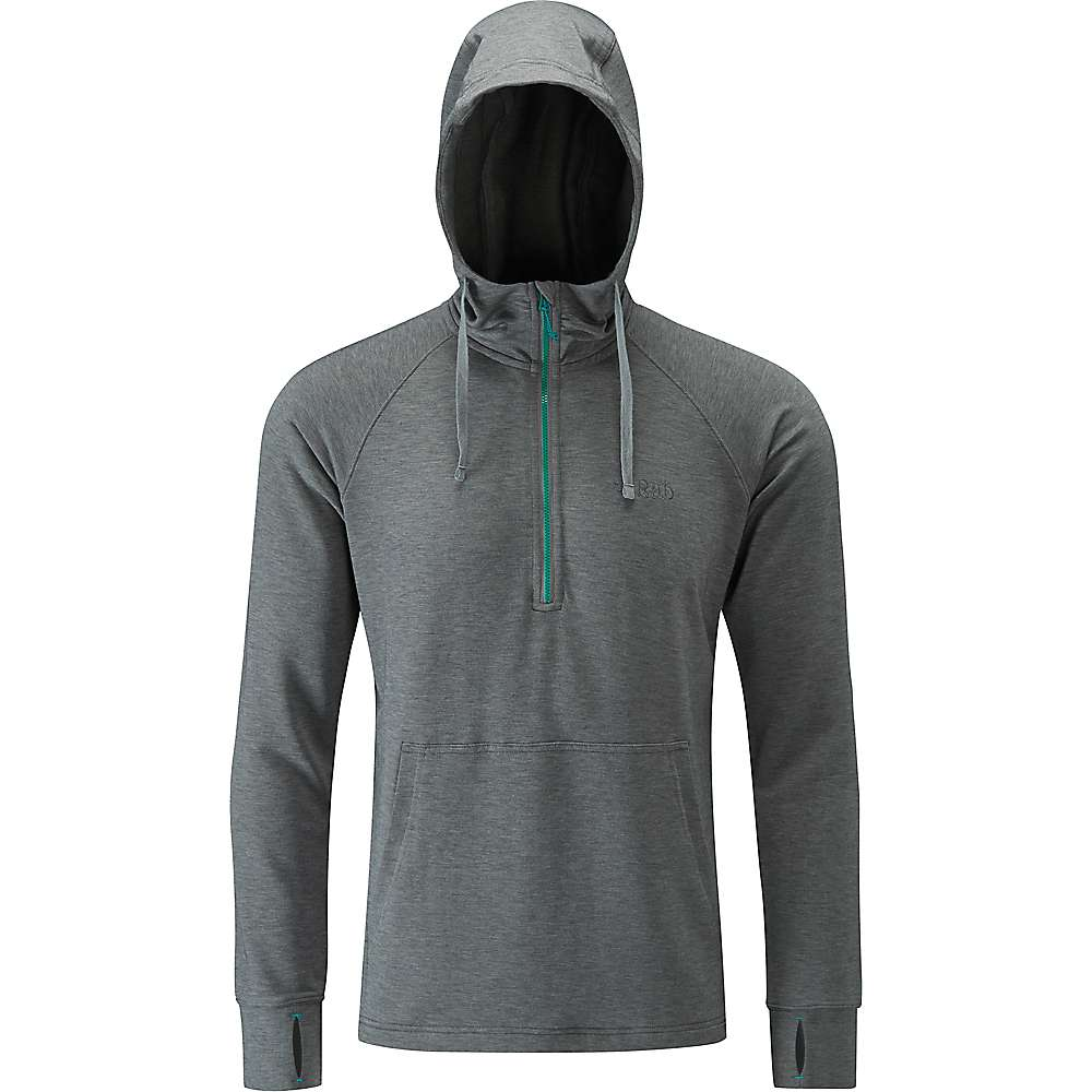 Rab Men's Top-Out Hoody - XL - Anthracite Marl