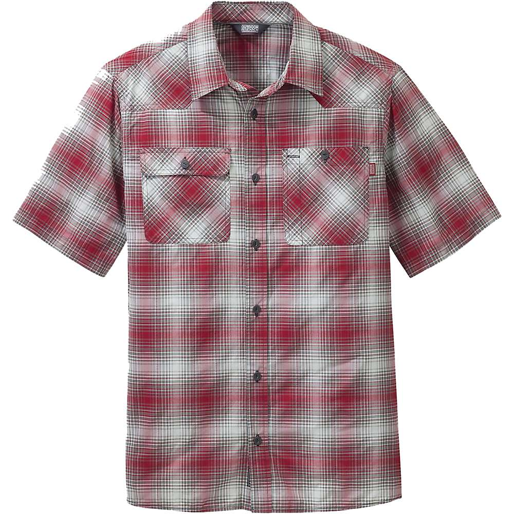 Outdoor Research Men's Growler SS Shirt – Small – Agate / Pewter