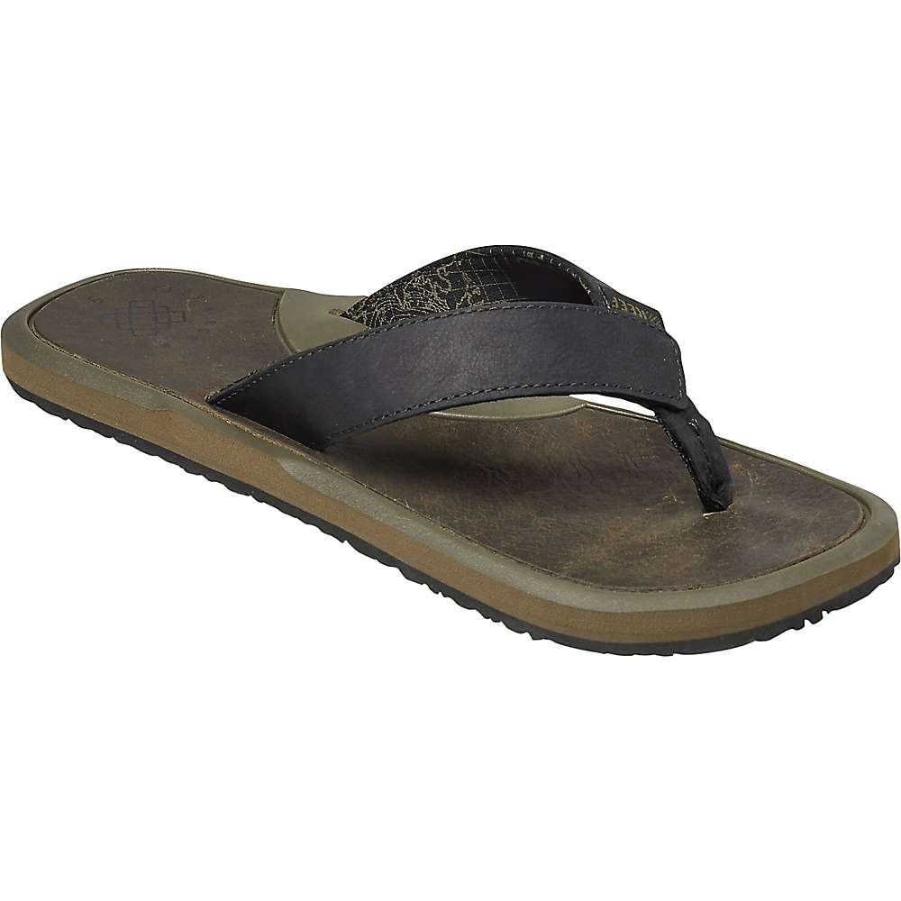 Reef Men's Machado Night Sandal - 8 - Olive
