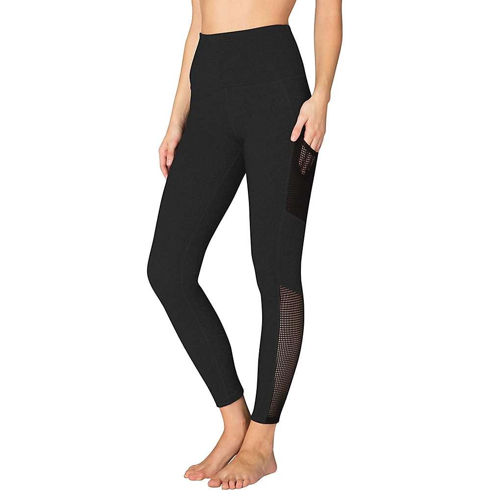 Beyond Yoga Women's Mesh Behavior High Waist Legging - XL - Jet Black
