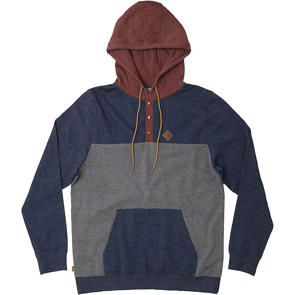 HippyTree Men's Logan Hoody - XL - Heather Navy