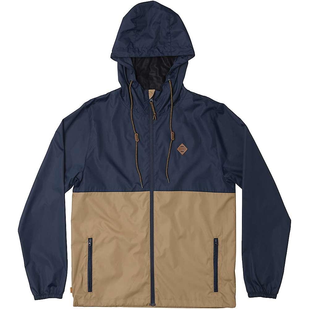 HippyTree Men's Saddleback Windbreaker Jacket - XL - Navy