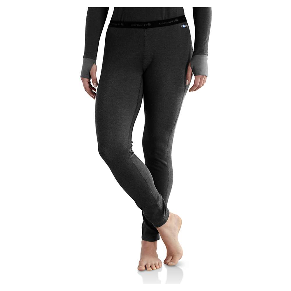Carhartt Women's Base Force Cold Weather Bottom - Large - Black thumbnail
