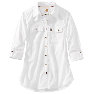 Carhartt Force Ridgefield Shirt - White - Women