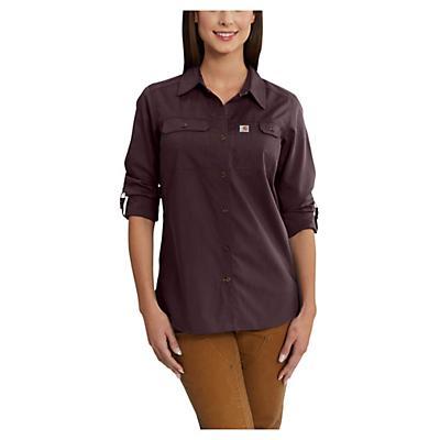 Carhartt Force Ridgefield Shirt - Deep Wine - Women