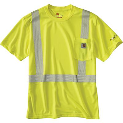 Carhartt High-Visibility Force SS Class 2 T-Shirt - Brite Lime - Men