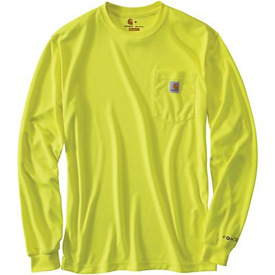 Carhartt High-Visibility Force Color Enhanced LS T-Shirt - Brite Lime - Men