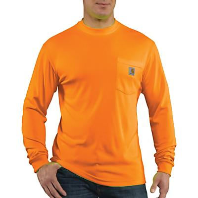 Carhartt High-Visibility Force Color Enhanced LS T-Shirt - Brite Orange - Men