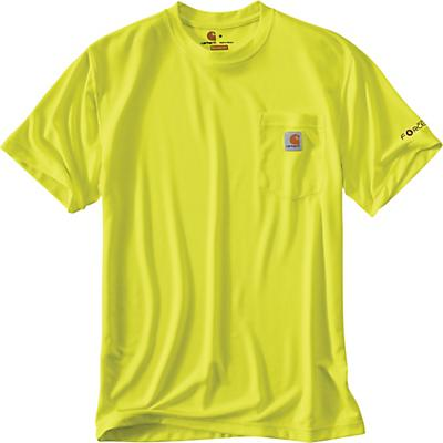 Carhartt High-Visibility Force Color Enhanced SS T-Shirt - Brite Lime - Men