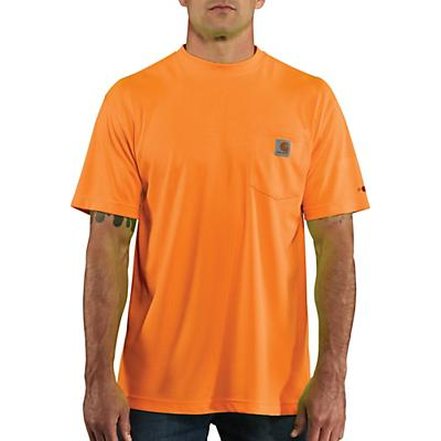 Carhartt High-Visibility Force Color Enhanced SS T-Shirt - Brite Orange - Men