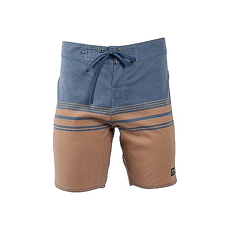 United By Blue Backwater Scallop Boardshort
