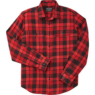 Filson Scout Shirt - Black / Scarlet - Men
