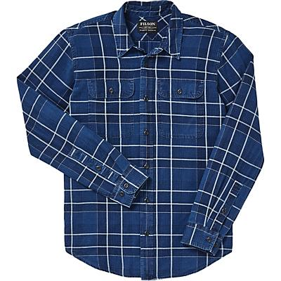 Filson Scout Shirt - Indigo / Black / Khaki Plaid - Men