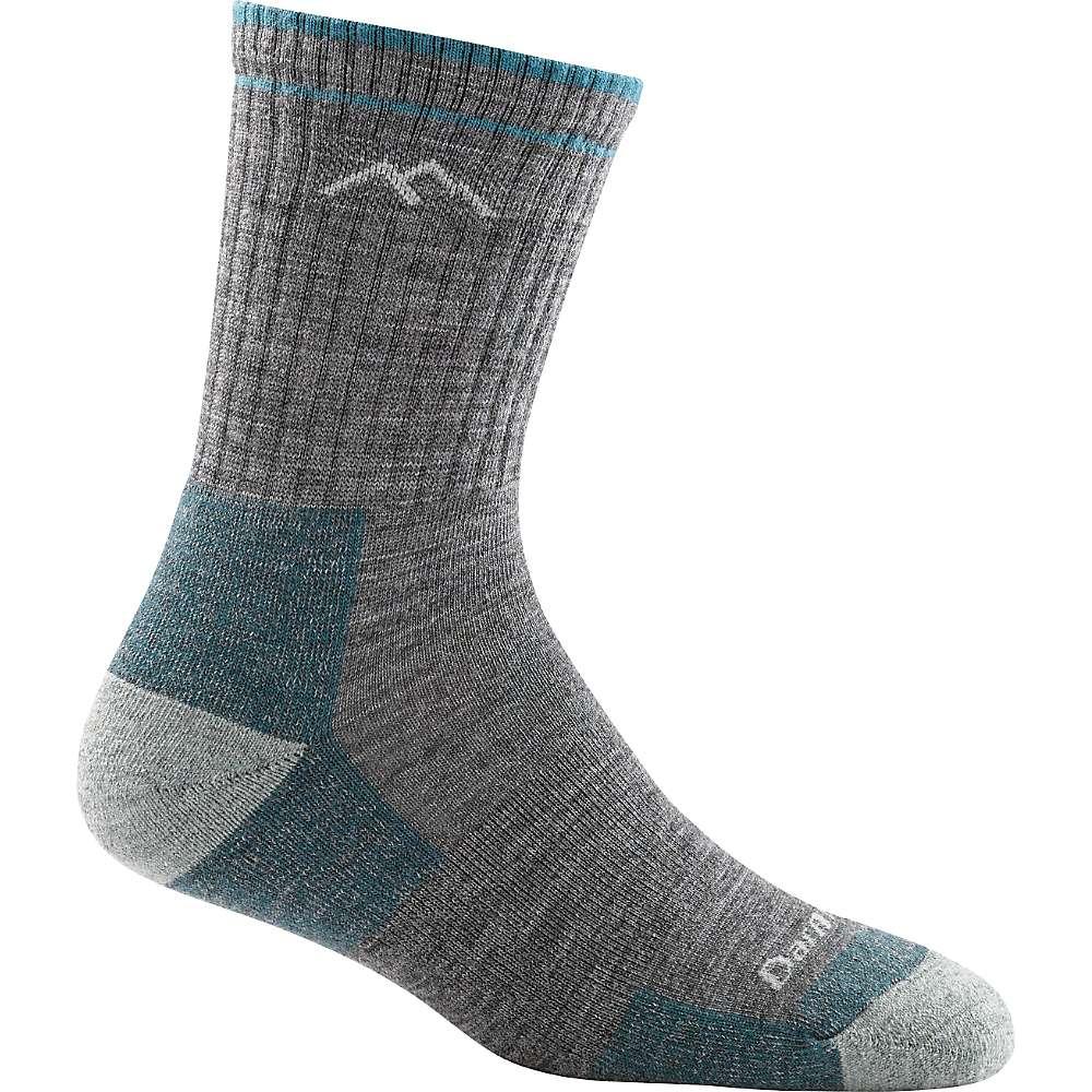Darn Tough Women's Hiker Micro Crew Cushion Sock - Large - Slate